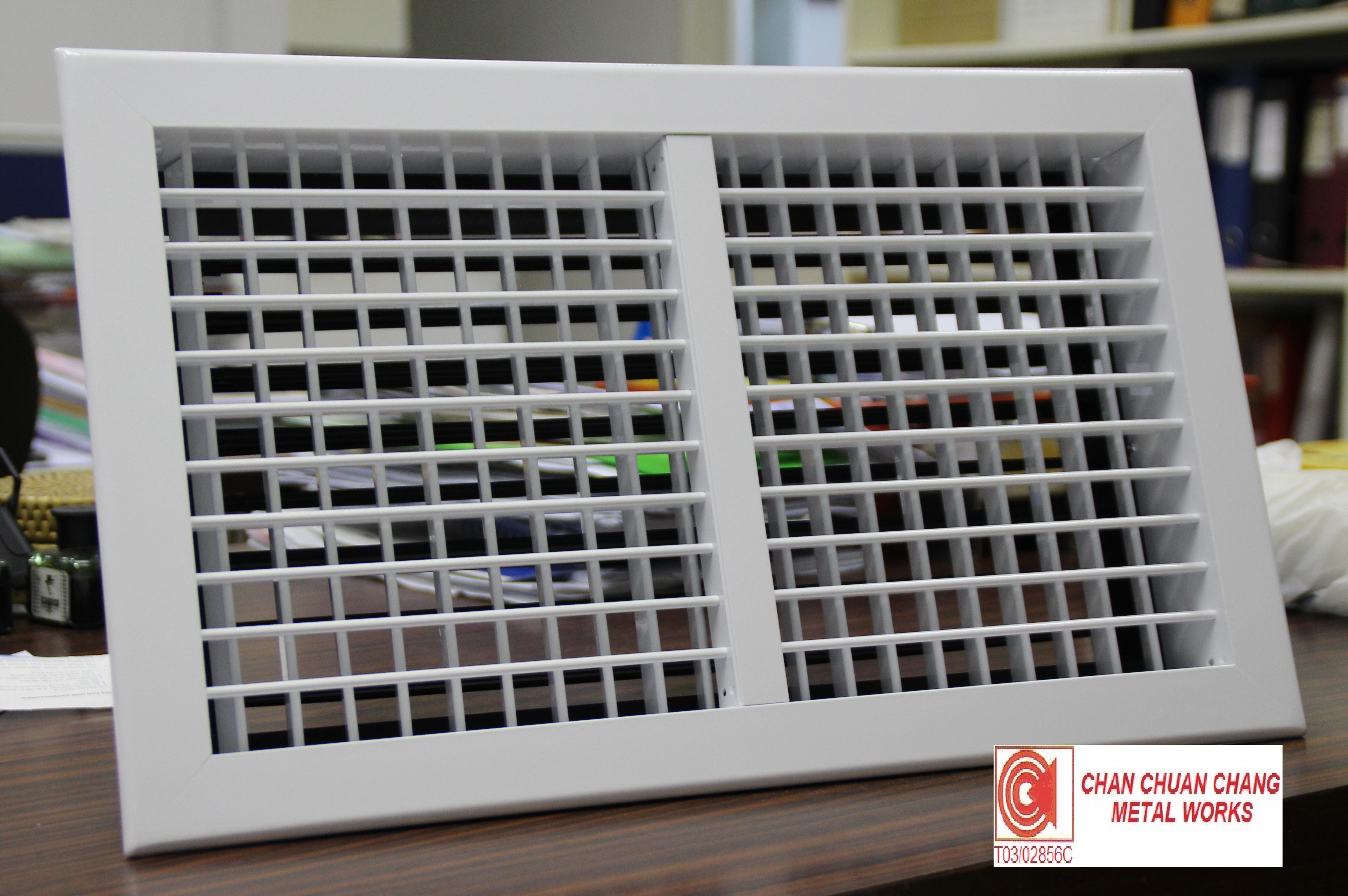 Double Deflection Grille With Damper : Chan chuan chang metal works